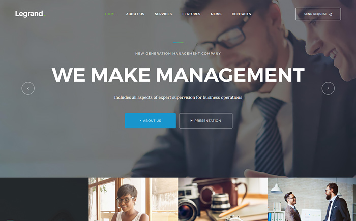Legrand multipurpose business theme6e67