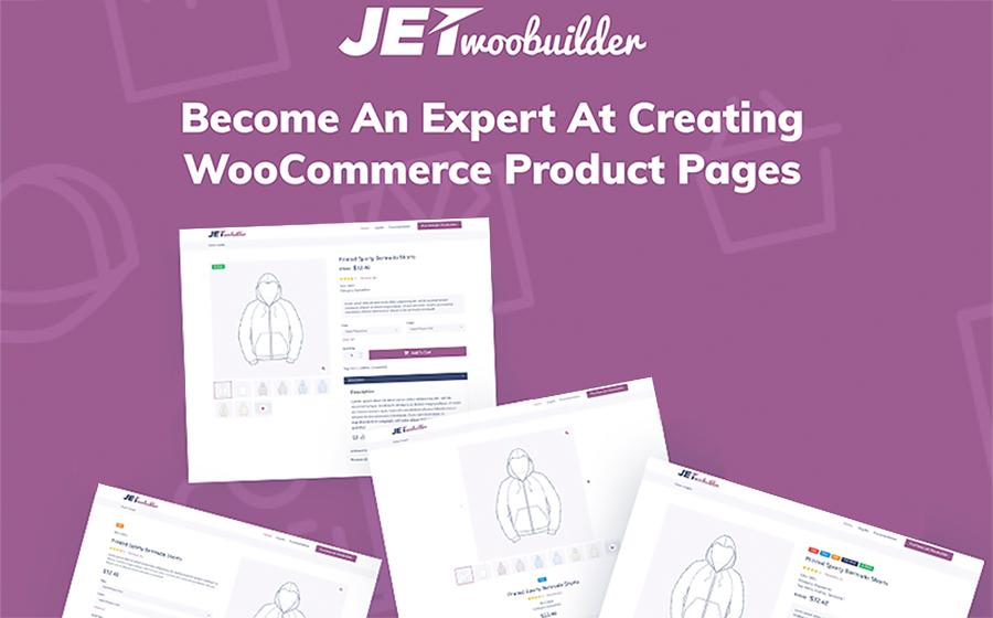JetWooBuilder - Construtor de Complementos de Páginas WooCommerce para Plugin Elementor WordPress