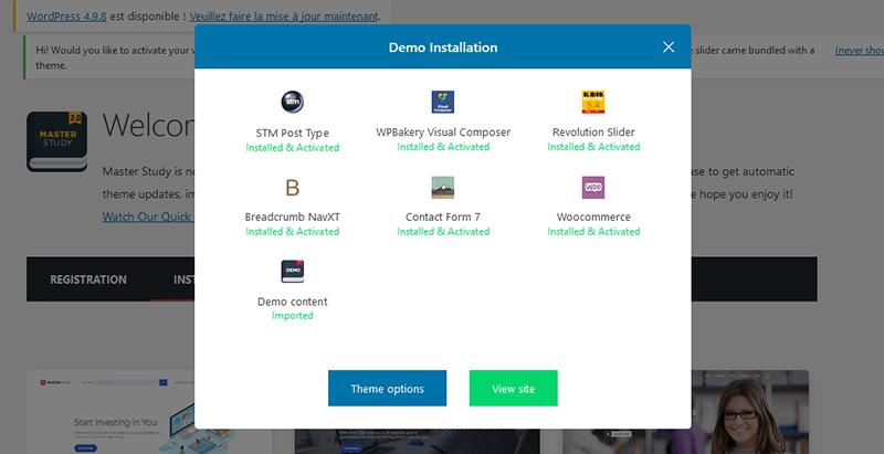 Install final demos masterstudy