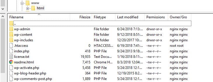 liste de répertoire wordpress ftp.png