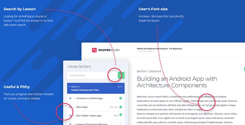 Masterstudy theme wordpress e learning customizable