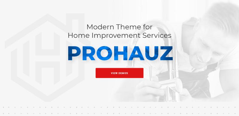 Prohauz themes wordpress creer site web plombier plomberie