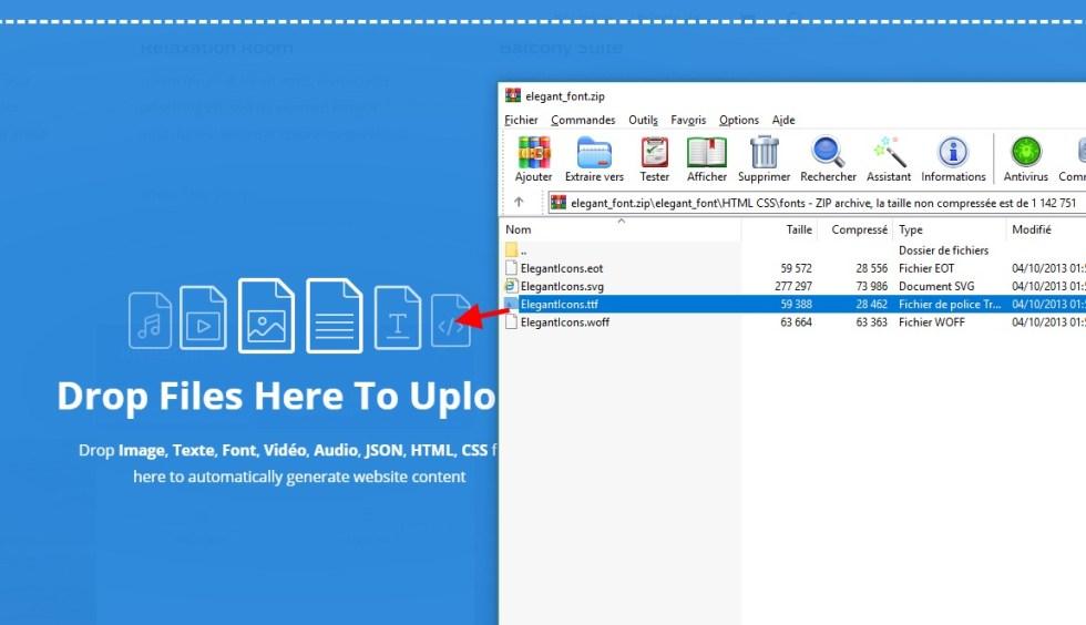 extract the zip file divi.jpg