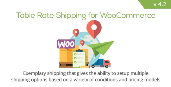 Table rate shipping for woocommerce by bolderelements codecanyon