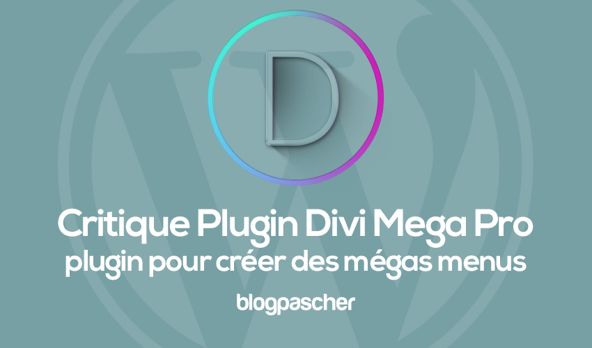 Revised wordpress divi mega pro menu plugin to create mega menu on wordpress