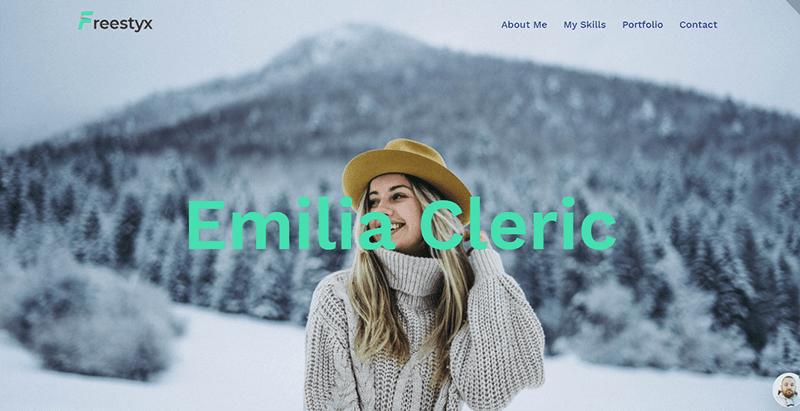 Freestyx theme wordpress creer site web freelance