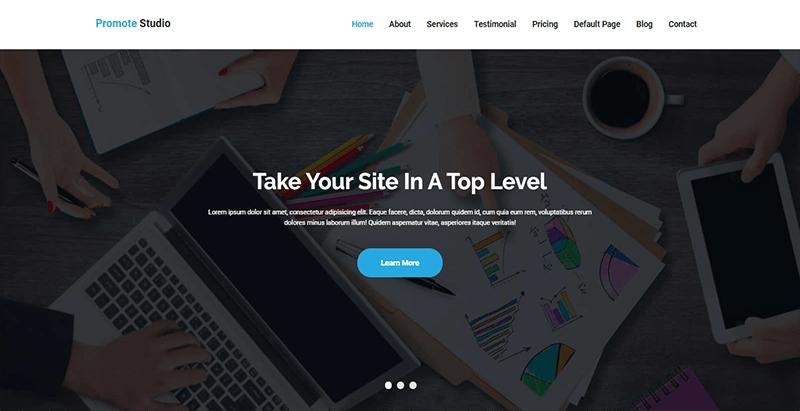 Promote theme wordpress creer site web entreprise