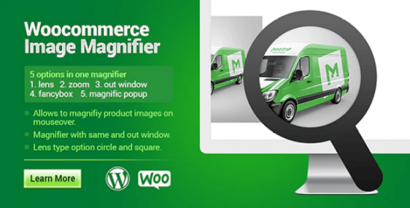Woocommerce product image zoom plugin wordpress pour zoom
