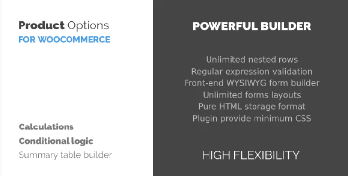 Woocommerce product options customizer plugin wordpress