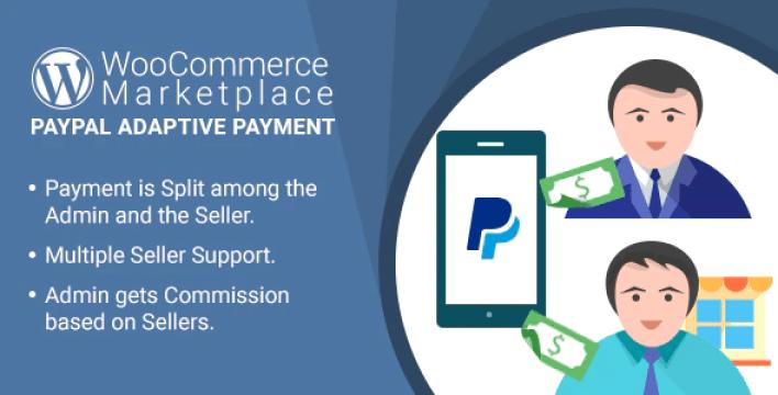 Wordpress woocommerce marketplace paypal adaptive payment plugin wordpress