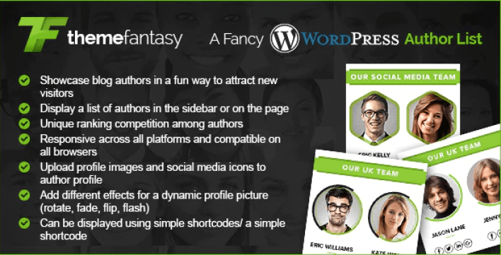 A fancy wordpress author list plugin wordpress