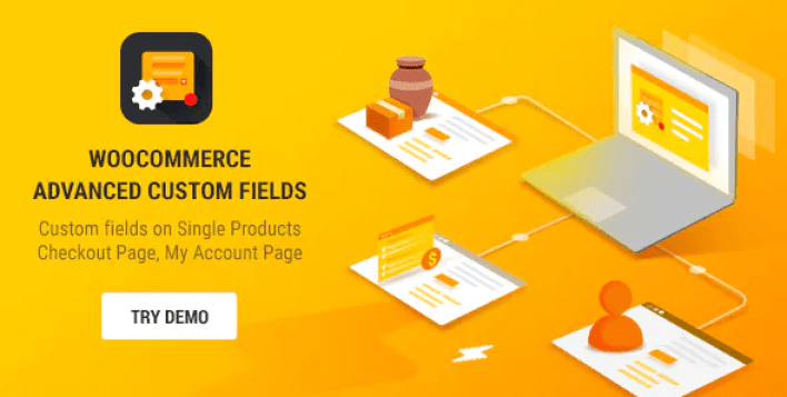Advanced Custom Fields for WooCommerce plugin WordPess