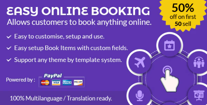 Easy online booking plugin wordpress