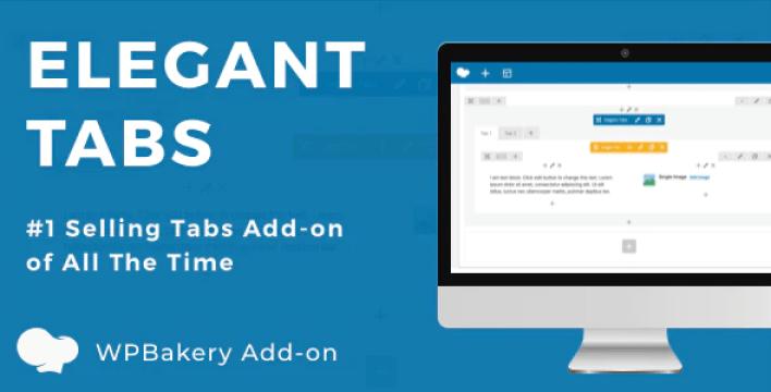 Elegant tabs for wpbakery page builder plugin wordpress