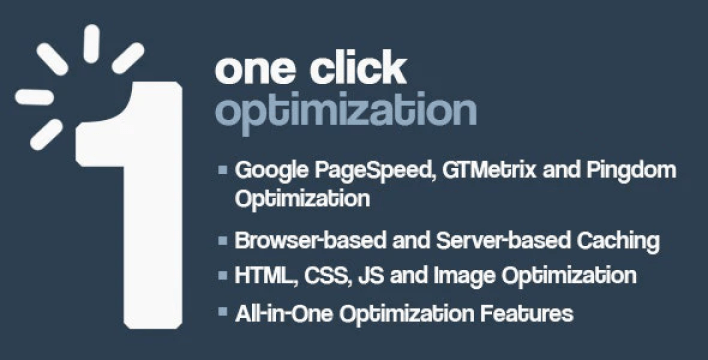 One click wordpress speed performance optimization plugin wordpress