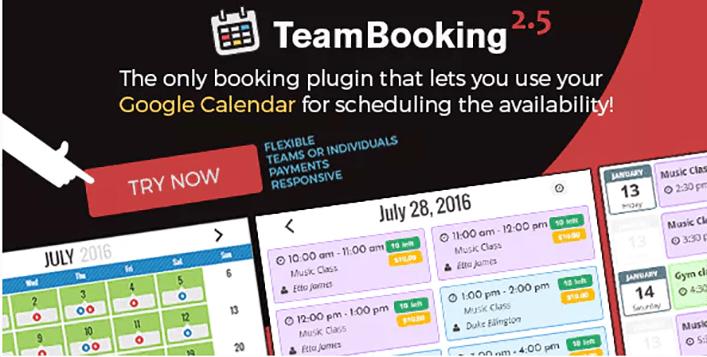 Team booking plugin wordpress reservation