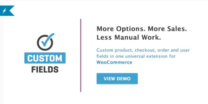 Woocommerce custom fields plugin wordpess