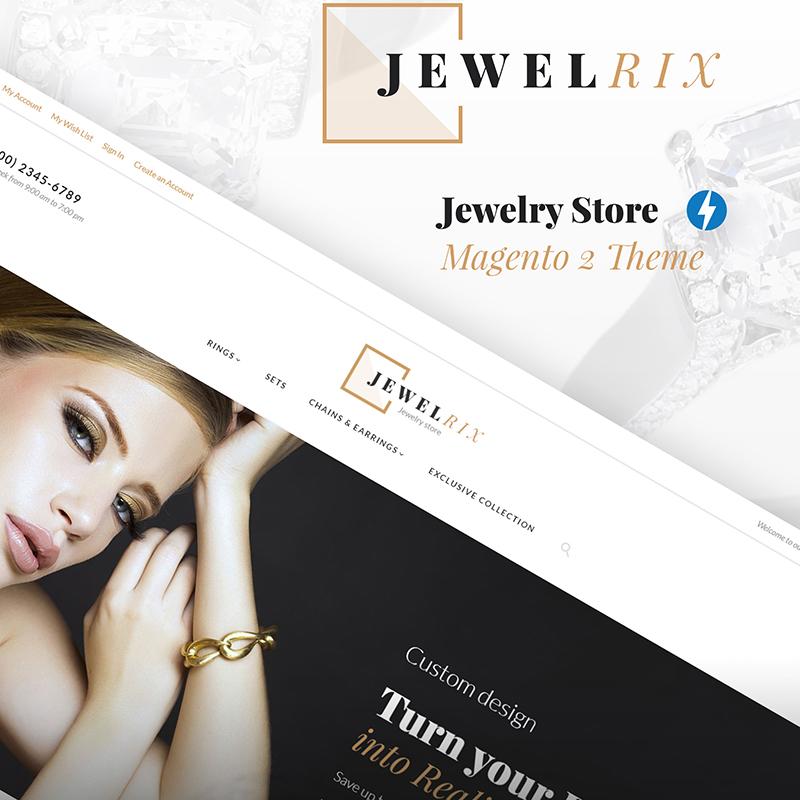 Jewelrix - Thème Magento