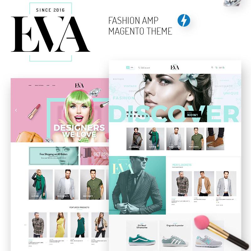 EVA – Thème Magento AMP pour boutique de mode