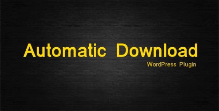 gérer les téléchargements - Automatic download
