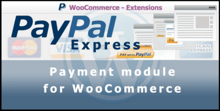 meilleurs plugins WordPress -Paypal express payment gateway for woocommerce
