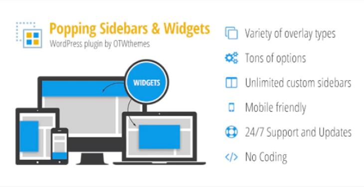 meilleurs plugins WordPress - Popping sidebars and widgets