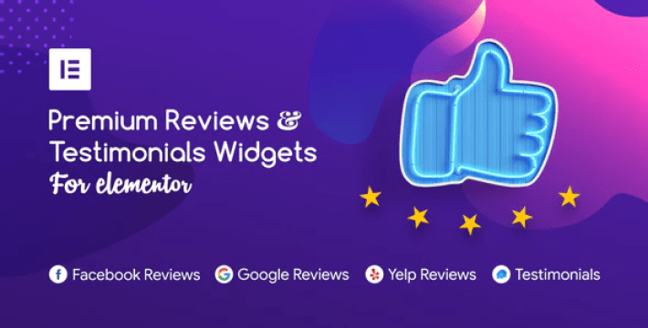 Premium reviews testimonials widgets for elementor plugin wordpress