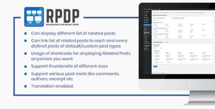 Related posts for distinct posts plugin wordpress