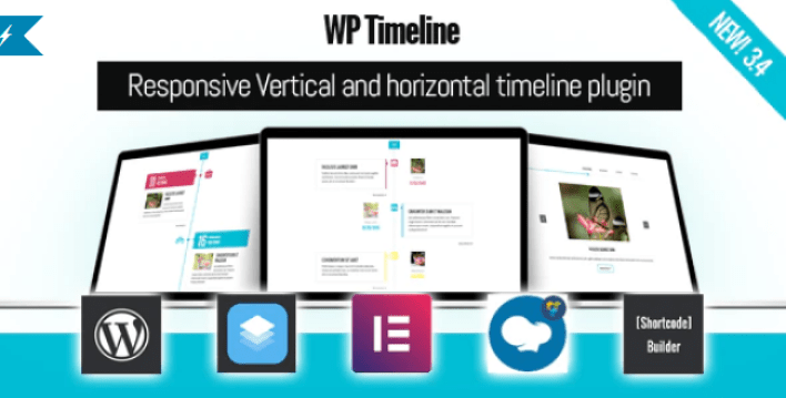 plugins WordPress de Timeline - Wp timeline