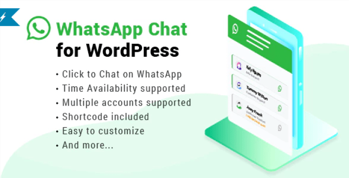 Whatsapp chat wordpress plugin