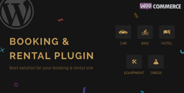 Rnb woocommerce booking rental plugin wordpress