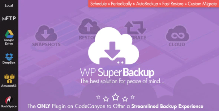 Super backup clone migrate for wordpress plugin