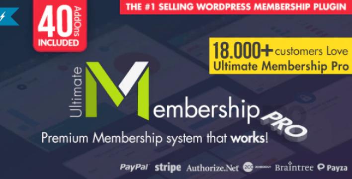 Ultimate membership pro wordpress membership plugin wordpress