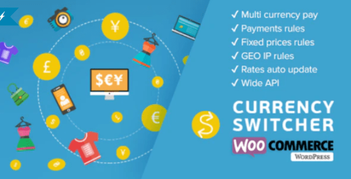 Woocs Woocommerce Währungsumschalter Woocommerce Multi Currency und Woocommerce Multi Pay Plugin WordPress 2