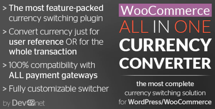 Woocommerce all in one currency converter plugin wordpress