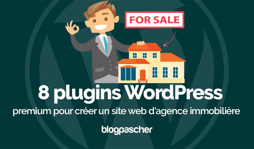 Plugin Wordpress Créer Site Web Agence Immobilière