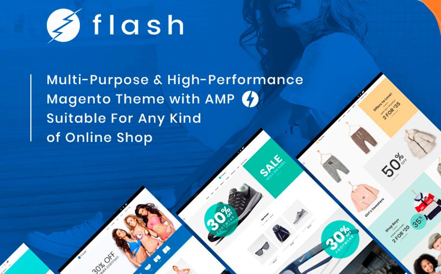 Flash - Thème Magento polyvalent et performant