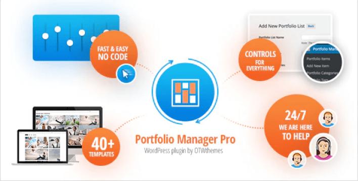 Portfolio manager pro wordpress responsive portfolio gallery plugin wordpress