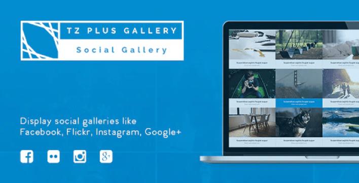 Tz plus gallery wordpress social gallery plugin wordpress