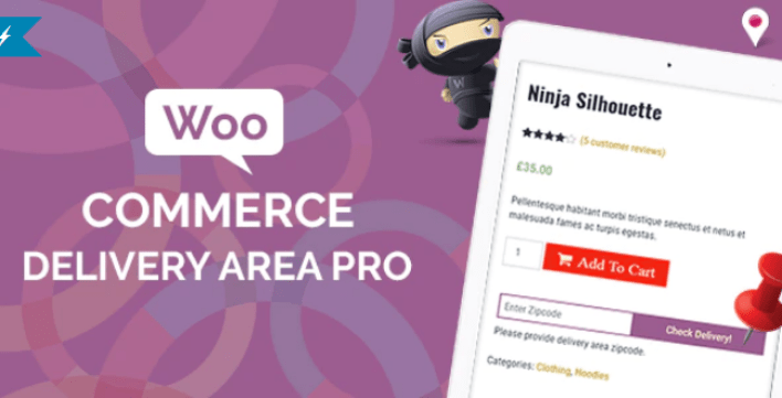 Woocommerce delivery area pro plugin wordpress