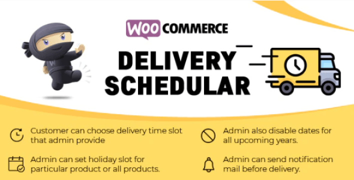 Woocommerce delivery schedular plugin wordpress