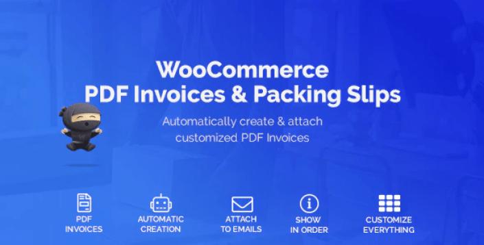 Woocommerce pdf invoices packing slips plugin wordpress