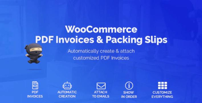 Woocommerce pdf invoices packing slips plugin wordpress
