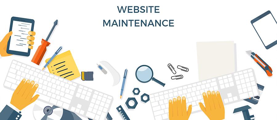 Révision du services Maintenance de site Web