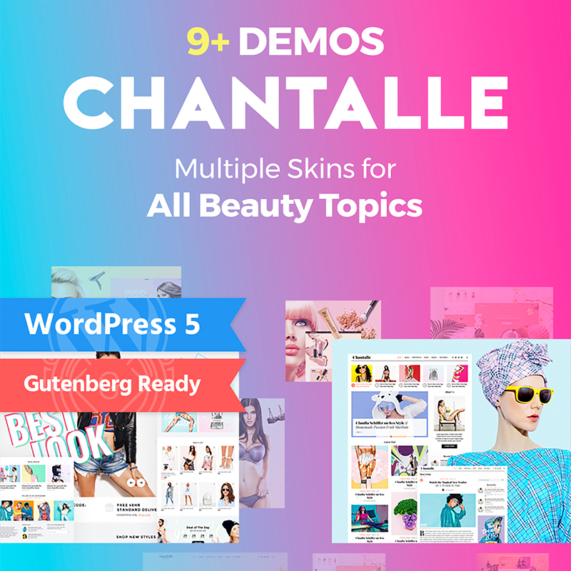 Chantalle - WordPress Tema