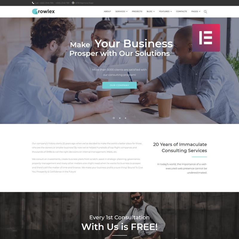 Glowlex WordPress Teması