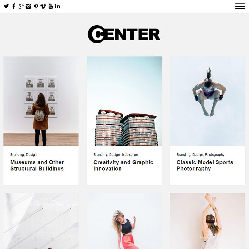 Center Thème WordPress
