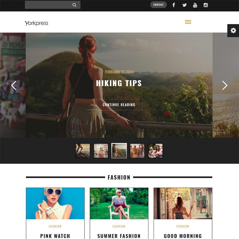 Yorkpress WordPress Theme
