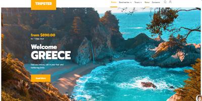 Tripster Theme Wordpress Créer Site Web Agence Voyage