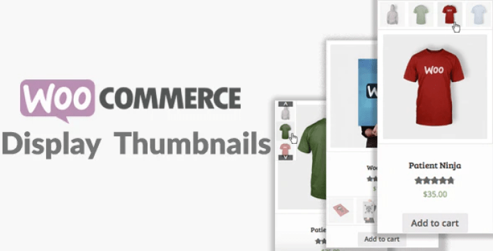 meilleurs plugins WordPress - Woocommerce display thumbnails plugin wordpress